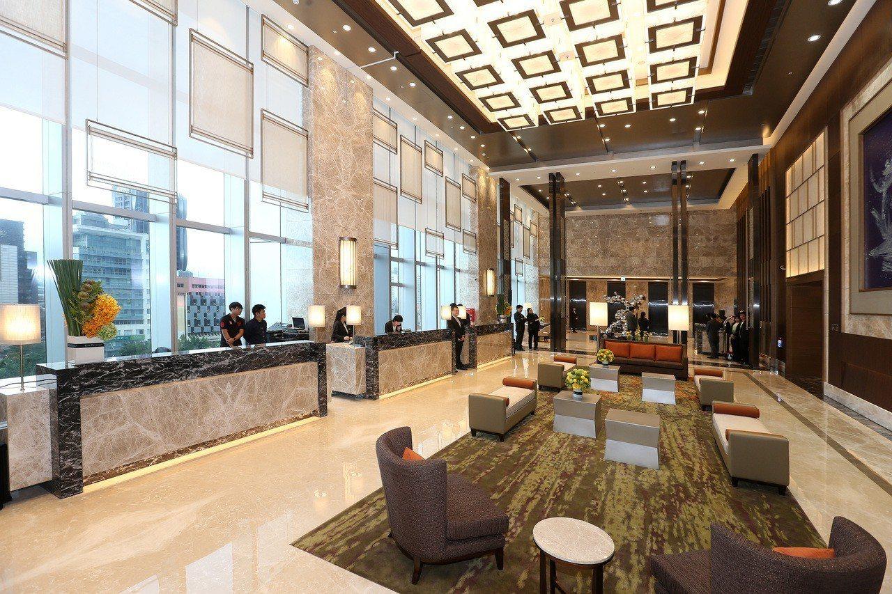 六福萬怡飯店2015年開幕。報系資料照