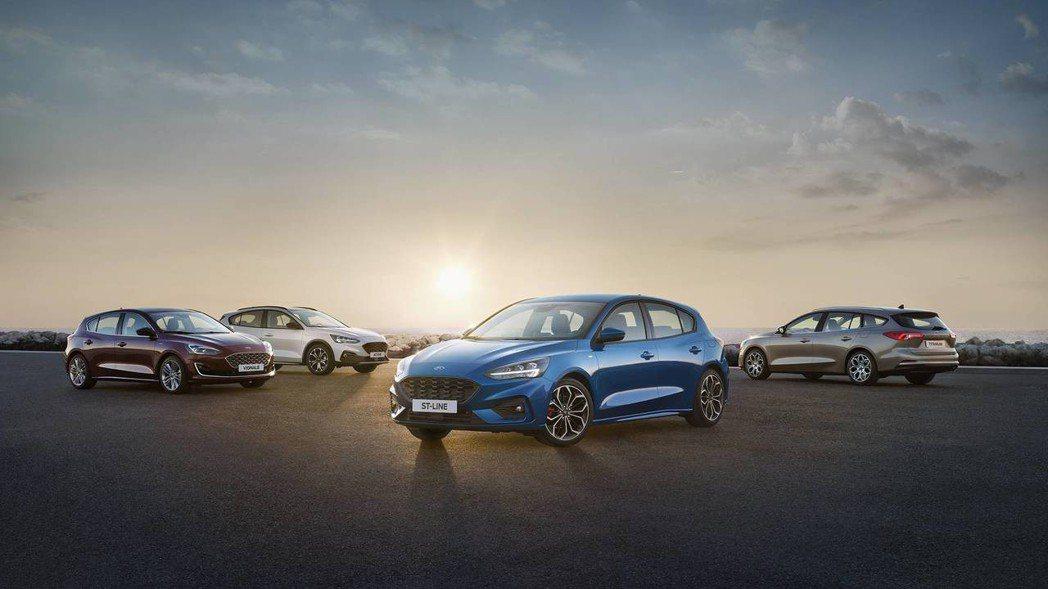 第四代Ford Focus正式發表。 摘自Ford