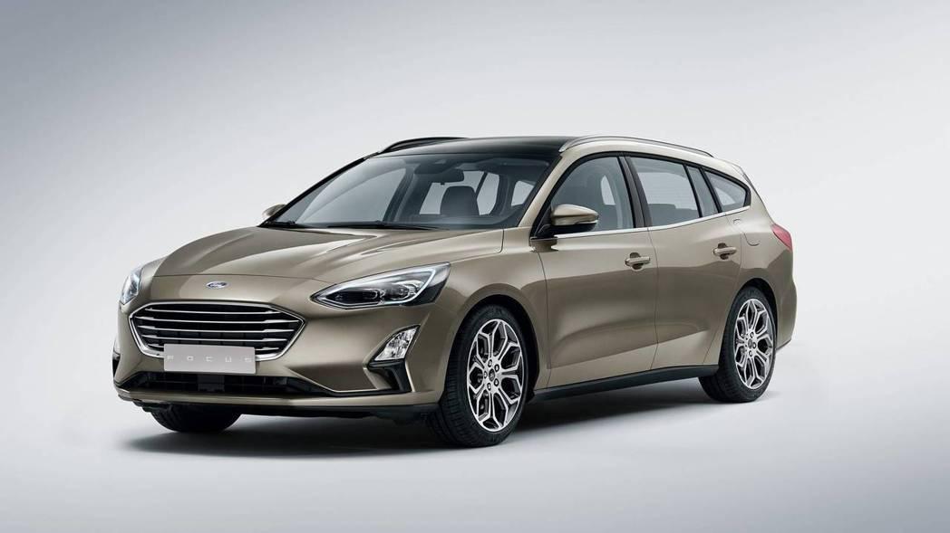 圖為第四代Ford Focus (此為Wagon版)。 摘自Ford