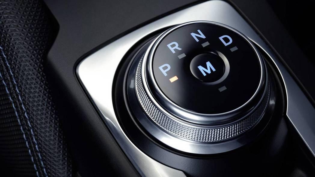 旋鈕式換檔系統。 摘自Ford