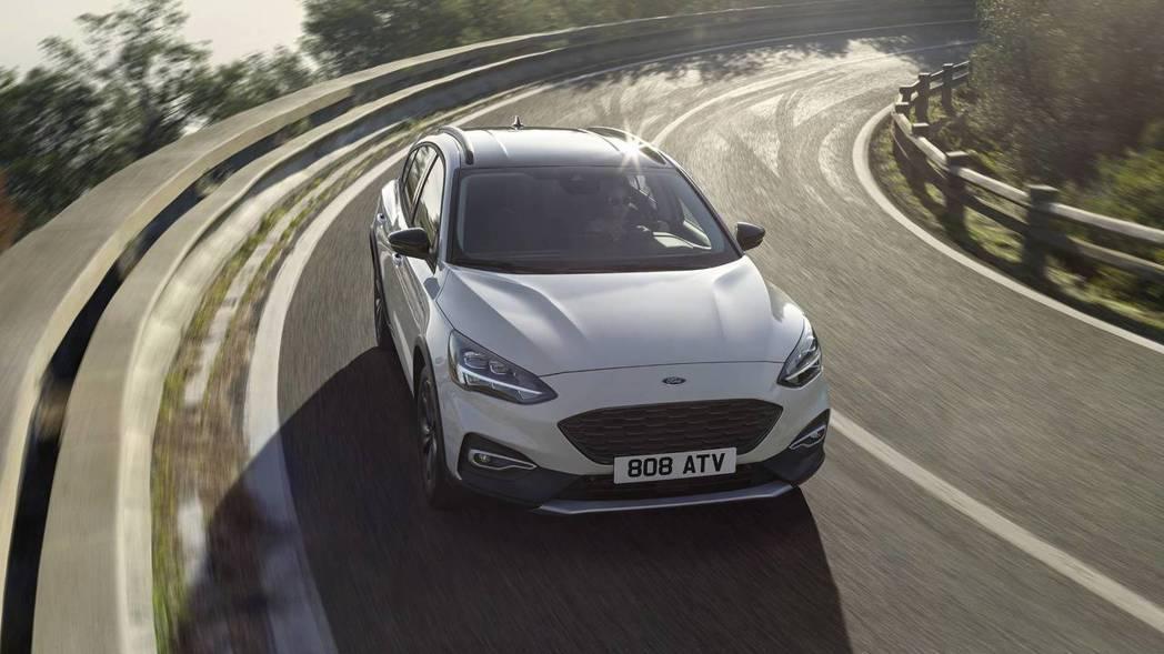 圖為第四代Ford Focus (此為Avtive版)。 摘自Ford