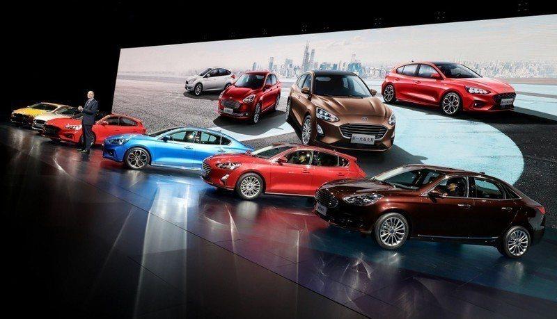 小改款Escort於中國重慶發表。 摘自Ford