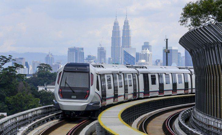 吉隆坡當地大眾運輸站週邊土地年年上漲。 業者/提供