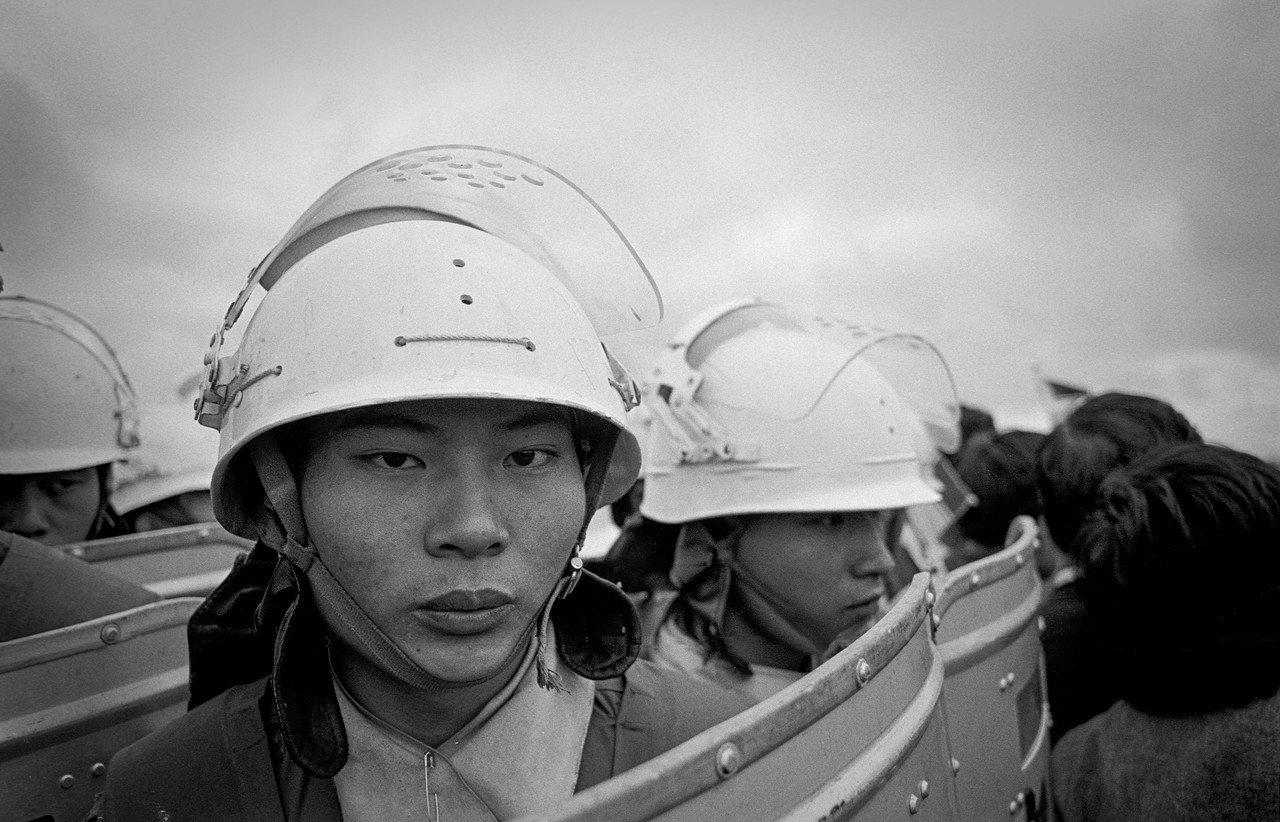 劉振祥 民主風景-機場事件 桃園 1986