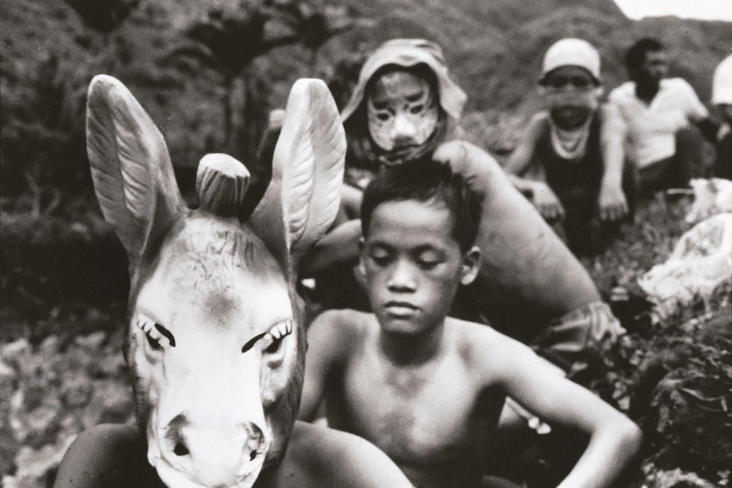 潘小俠 蘭嶼記事-馬頭與小孩 蘭嶼 1985