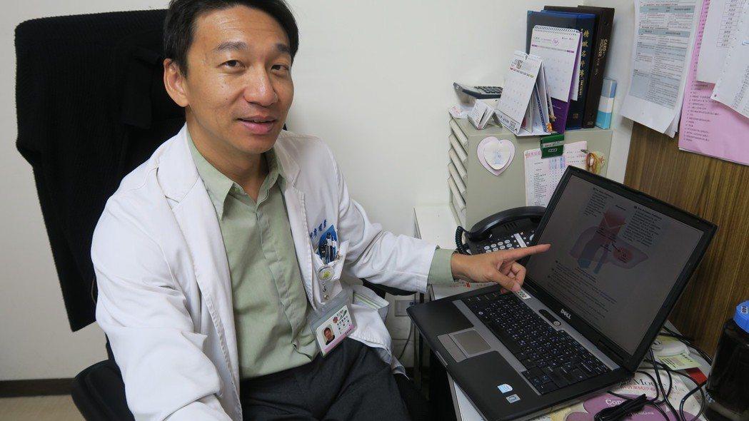 彰化醫院毒物科主任廖曜磐提醒民眾,頭痛吃止痛藥若無效,還是要就醫較安全。圖/彰化...