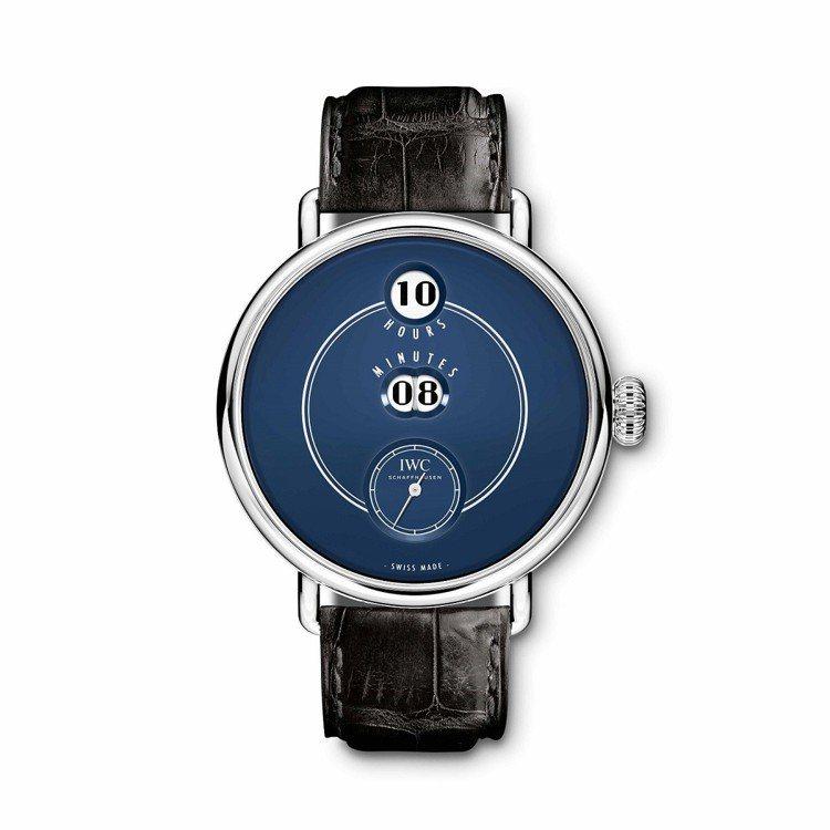 IWC萬國錶「致敬波威柏」150週年特別版,73萬3,000元。圖/萬國表提供