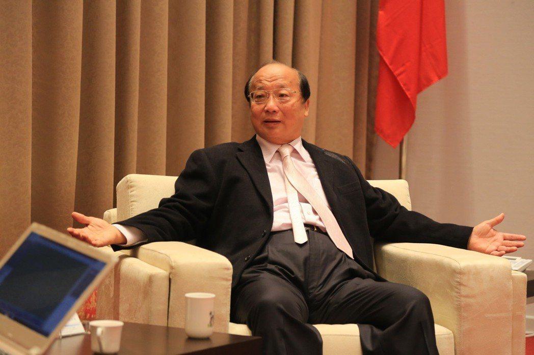 2014年在台中爭取市長連任的國民黨候選人胡志強,也是66歲。 圖/聯合報系資料...