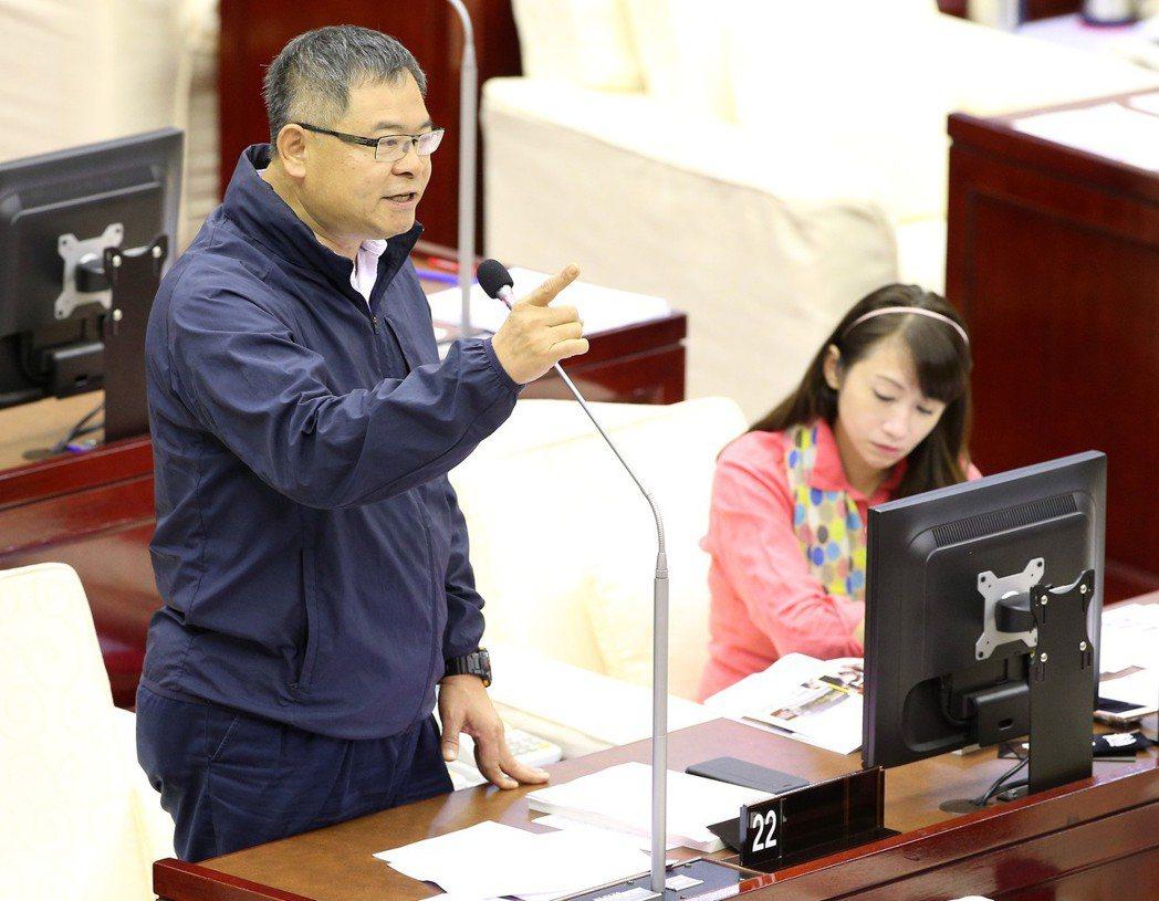 台北市議員李建昌認為,初選還是要靠個人。 圖/聯合報系資料照片