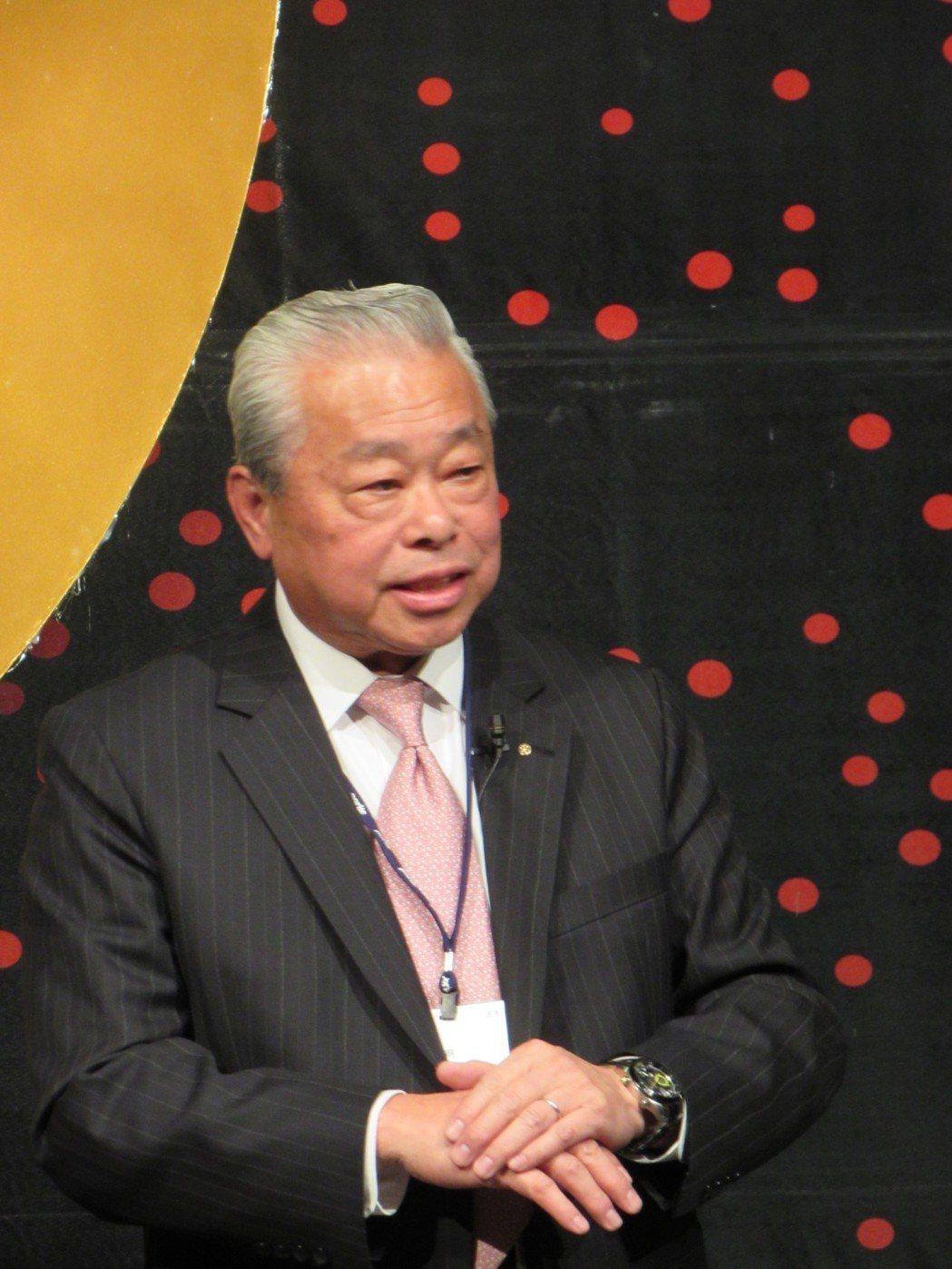 台灣保得總經理朱秋龍。 翁永全/攝影
