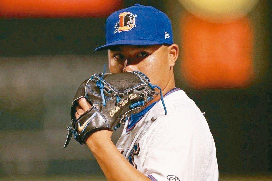 胡智為成了今年第2位登上大聯盟的台灣球員。 摘自推特