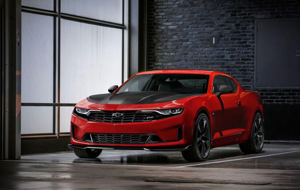 2019 Chevrolet Camaro。 摘自Chevrolet