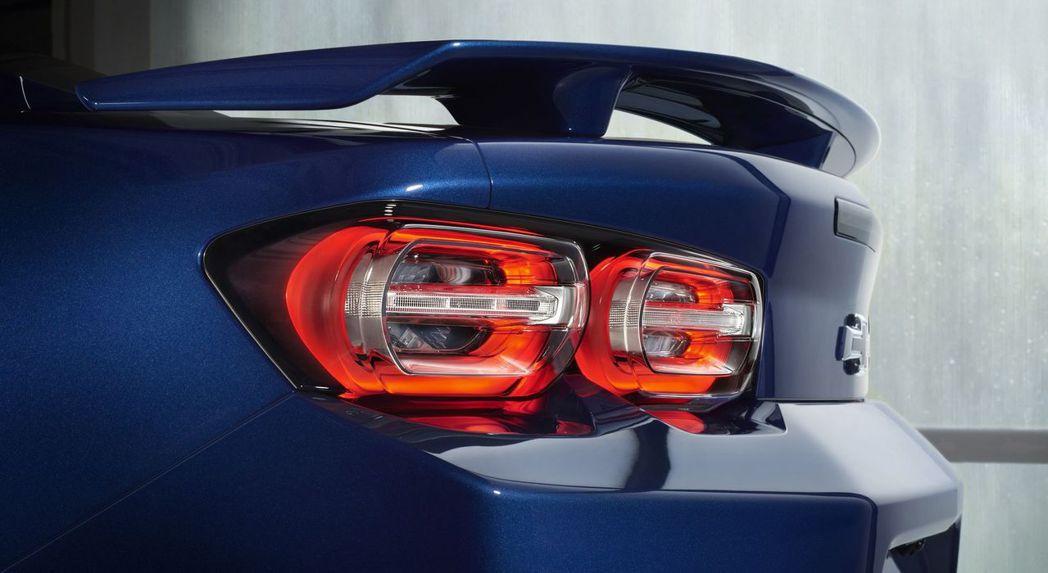 尾燈改為4環獨立LED,更加立體。 摘自Chevrolet