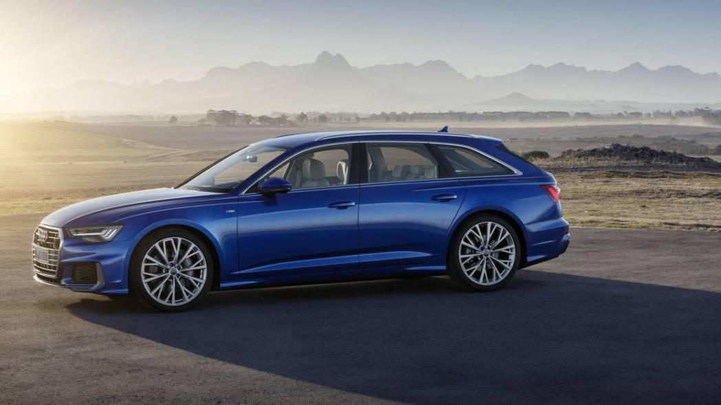 全新Audi A6 Avant展現更加氣派的面貌。 摘自Audi