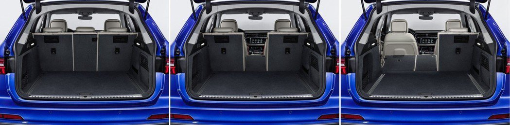 全新Audi A6 Avant提供後座40:20:40分離功能。 摘自Audi