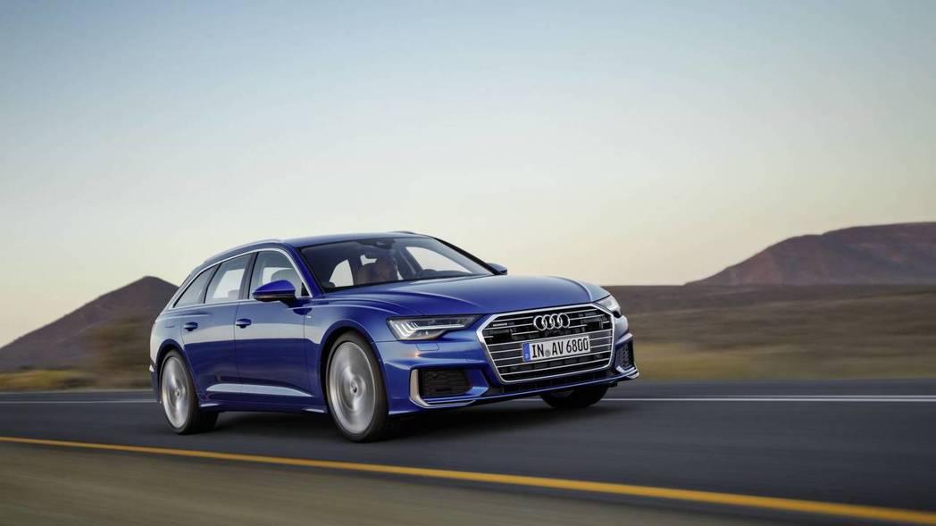 圖為全新Audi A6 Avant。 摘自Audi