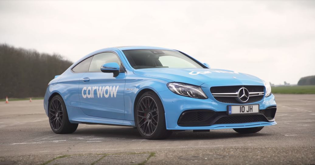 Mercedes-AMG C63 S 動力輸出 510hp、71.4kgm。 截自Carwow影片