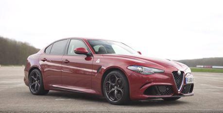 (影片)義大利毒蛇踢館!Alfa Romeo Giulia QV對決德國雙強M3、C63 S