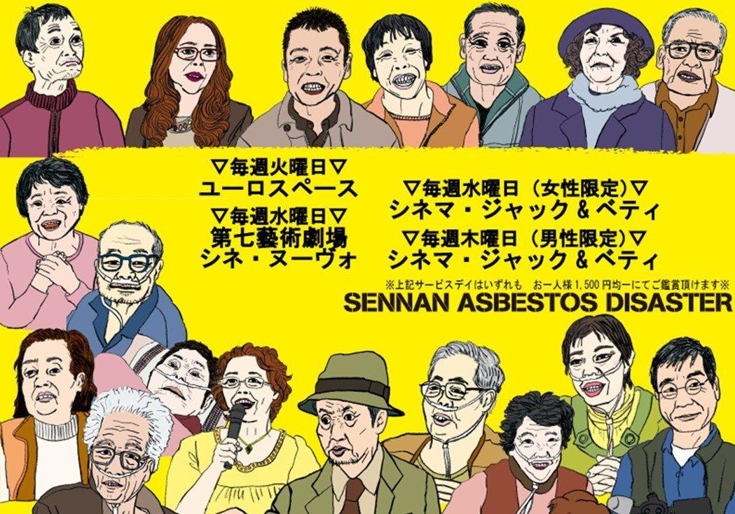 大阪泉南地區過去曾是石綿產業重鎮,因國家疏於管理監督,連帶產生健康危害。日本重量...