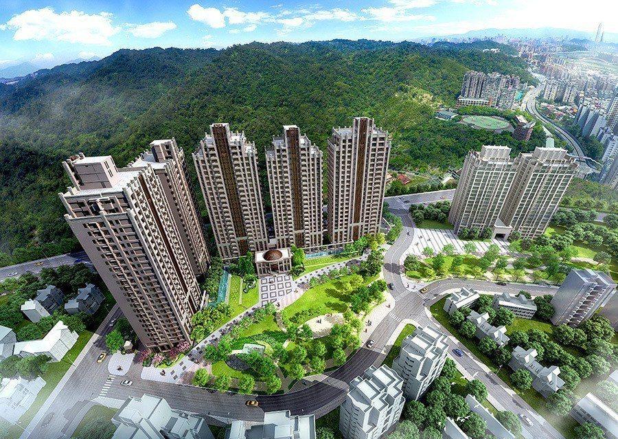 【合陽天擎】高綠覆率的特色,吸引眾多喜愛自然寧靜的移居客置產於此 (3D示意圖)...