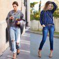 2018牛仔褲穿法你知道嗎?今年這樣穿才時尚