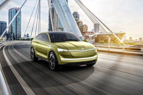 全電能ŠKODA SUV Coupe 將於2年後發表