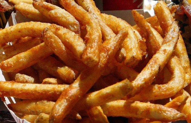 炸薯條。路透社