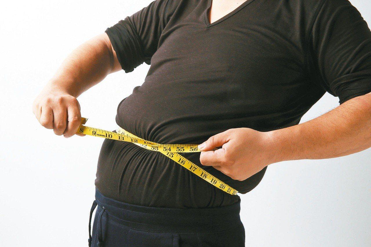 肥胖與糖尿病的關係密切。資料照