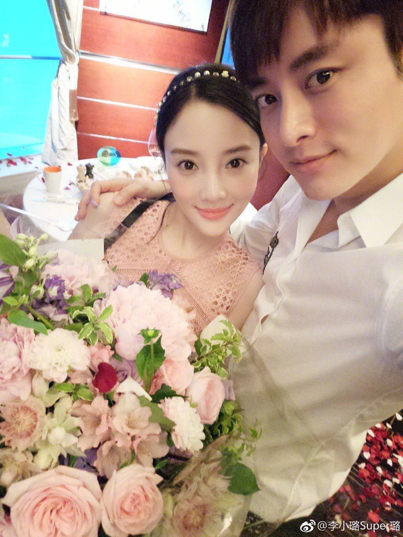 李小璐與賈乃亮。圖/摘自微博