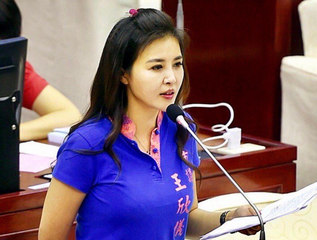 台北市議員王欣儀。圖/王欣儀提供
