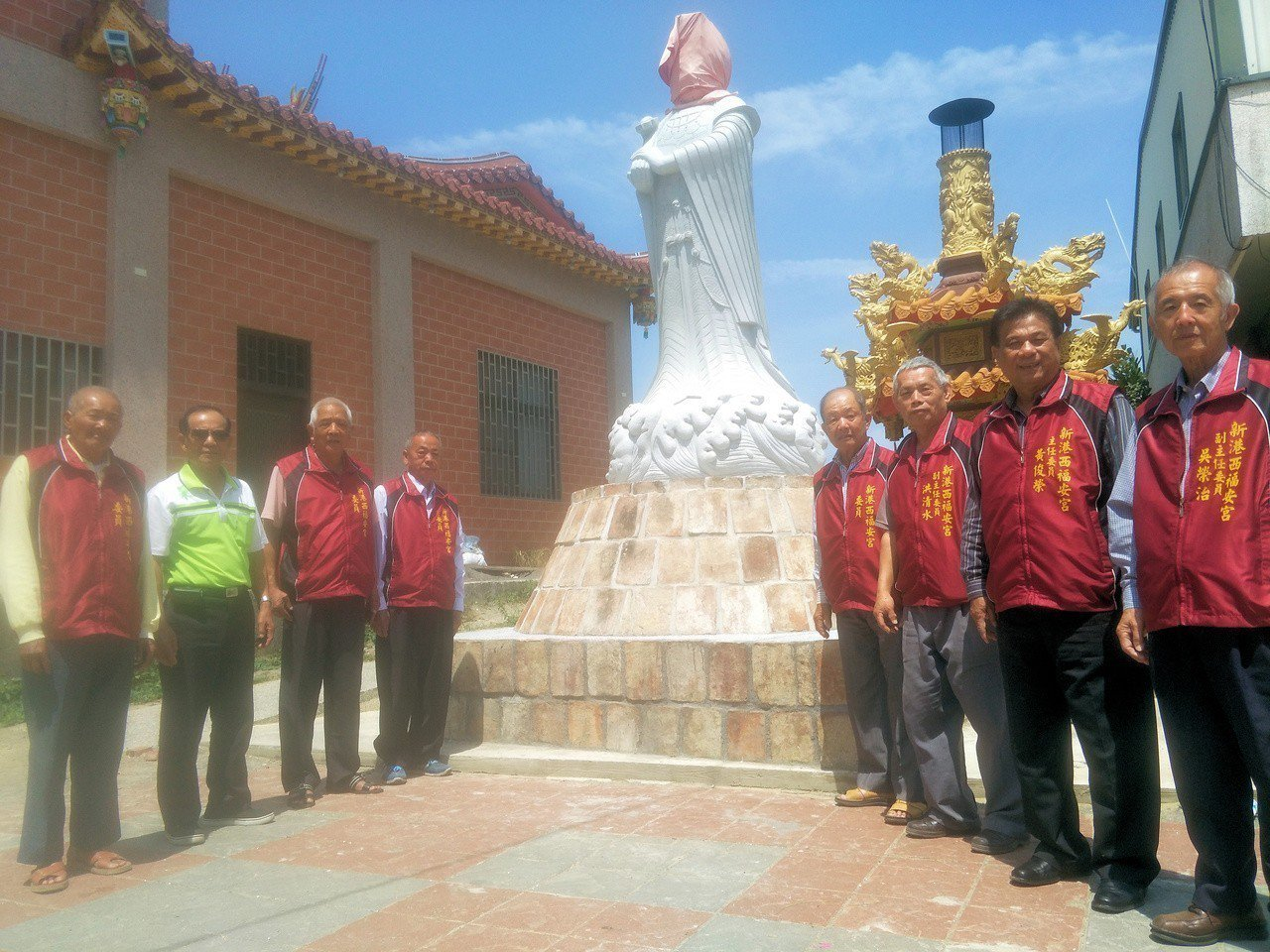 重返先人信仰聚落,台南新市福安宮近日將辦木柵尋根之旅。記者謝進盛/攝影