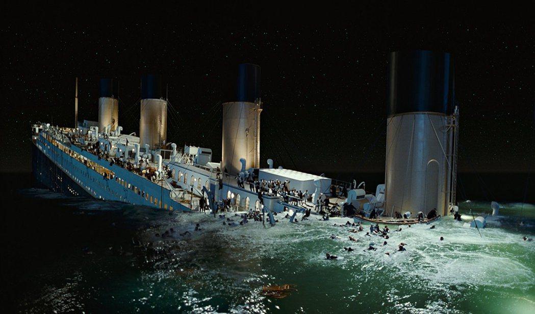 「鐵達尼號」20年前轟動全球,今日紀錄已不斷被超越。圖/摘自imdb