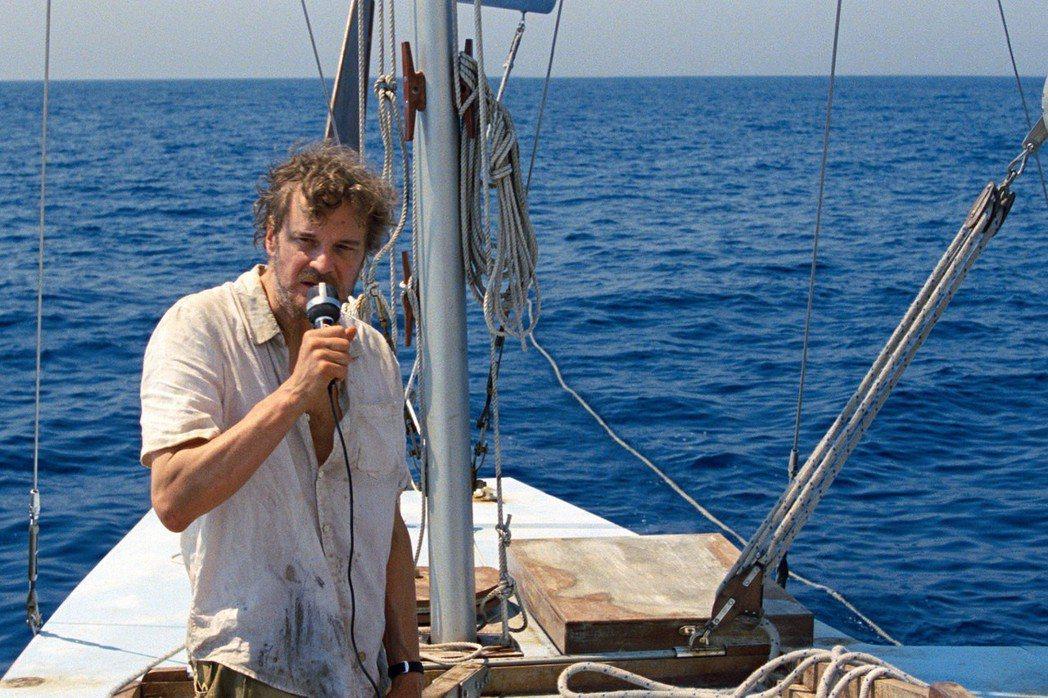 柯林佛斯演出「獨帆之聲」。圖/采昌提供