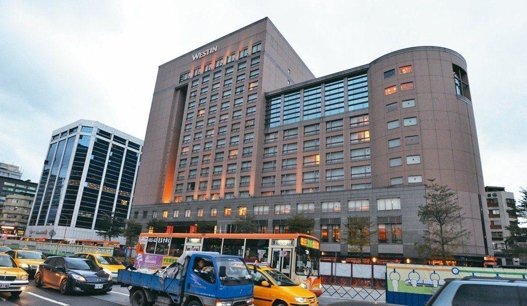 台北威斯汀六福皇宮年底將歇業。 圖/聯合報系資料照片