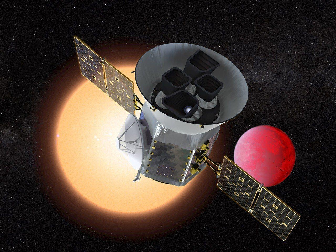 外媒報導,縮寫為Tess的凌日系外行星巡天衛星,將有如宇宙刺候,在太空軌道上對鄰...