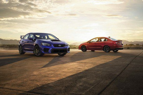 SUBARU宣佈2019年WRX/WRX STI推出限量版車型