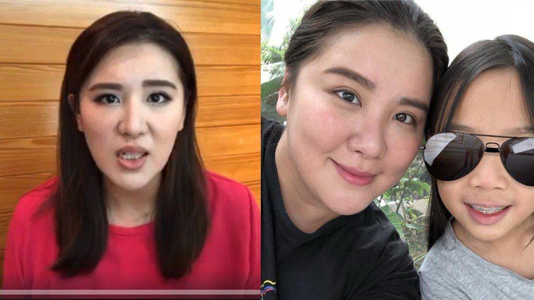 小禎瘦身122天甩30公斤。右圖為2017年12月拍攝,左圖為2018年4月10...