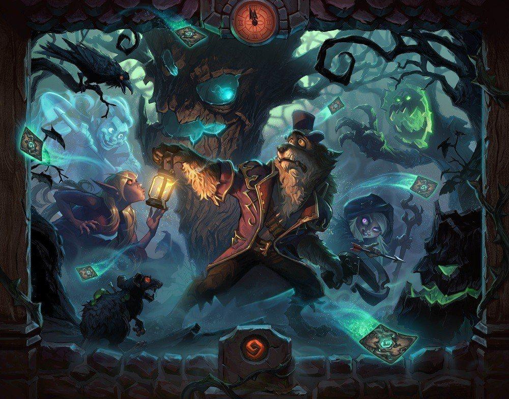 《爐石戰記:黑巫森林》今(13)日正式上市!
