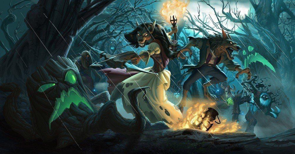 磨好利爪!前進《黑巫森林TM》體驗《爐石戰記®》最毛骨悚然的全新資料片