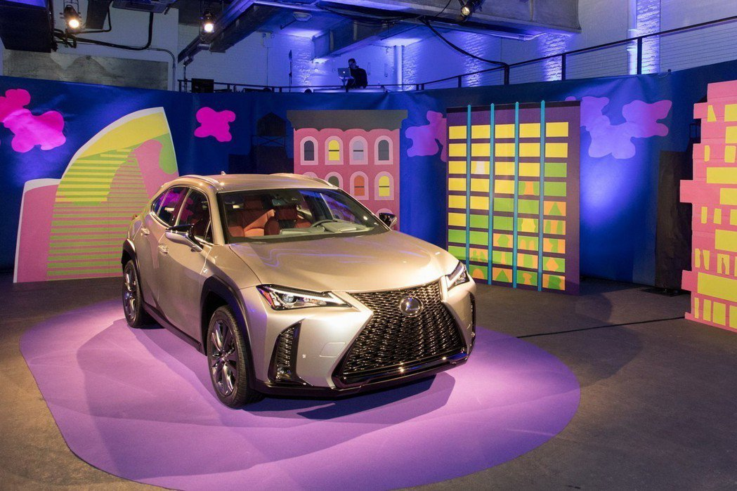 Lexus UX在三月底正式登陸美國。 摘自Lexus