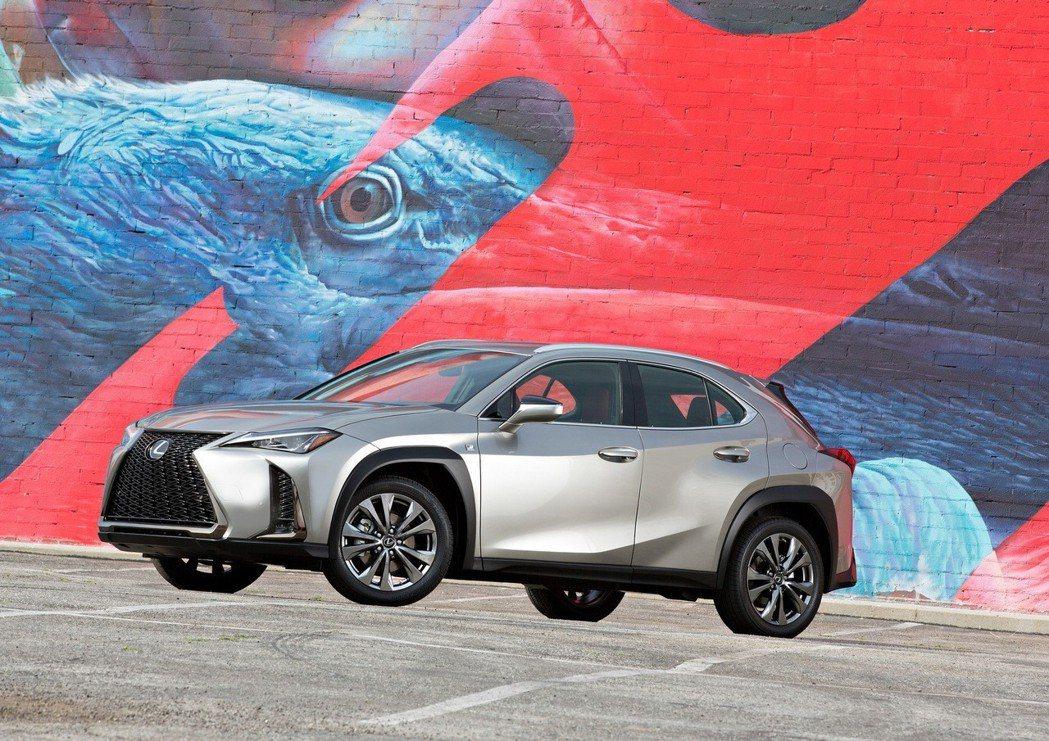 圖為全新Lexus UX。 摘自Lexus