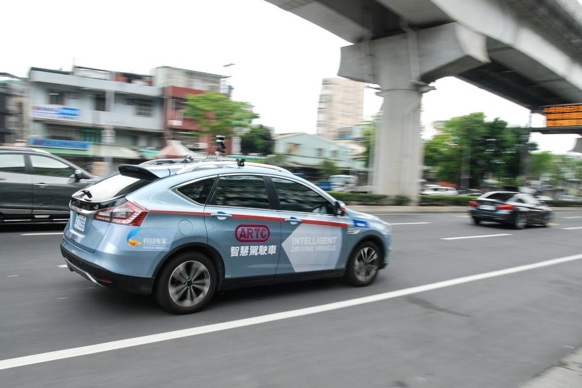 2018 AMPA展新增改裝維修領域 TARC自駕車實際上路