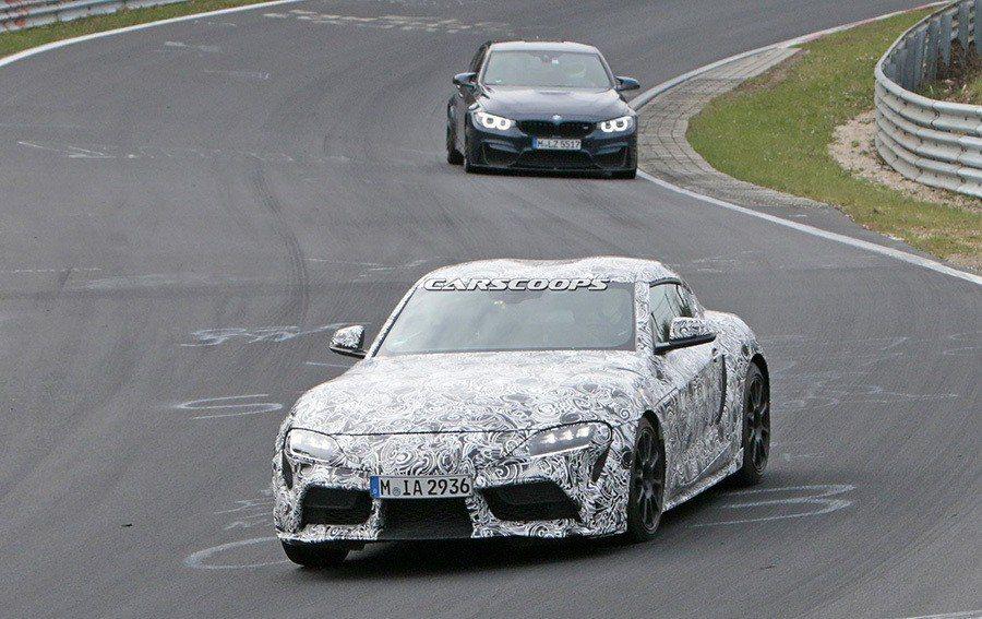 Toyota Supra與BMW Z4為雙生車型。 摘自carscoops