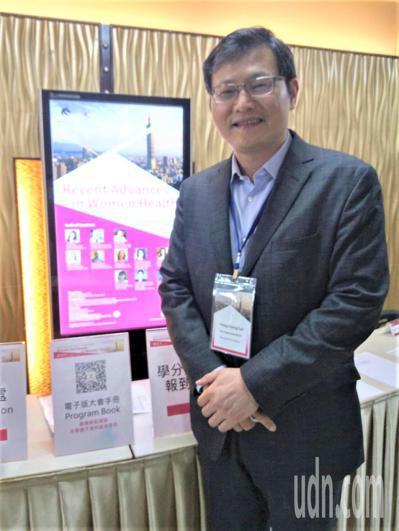 台北醫學大學醫學系教授賴鴻政。記者羅真/攝影