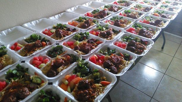路易斯烹調的菜色兼具美味與營養。(取自SWNS)