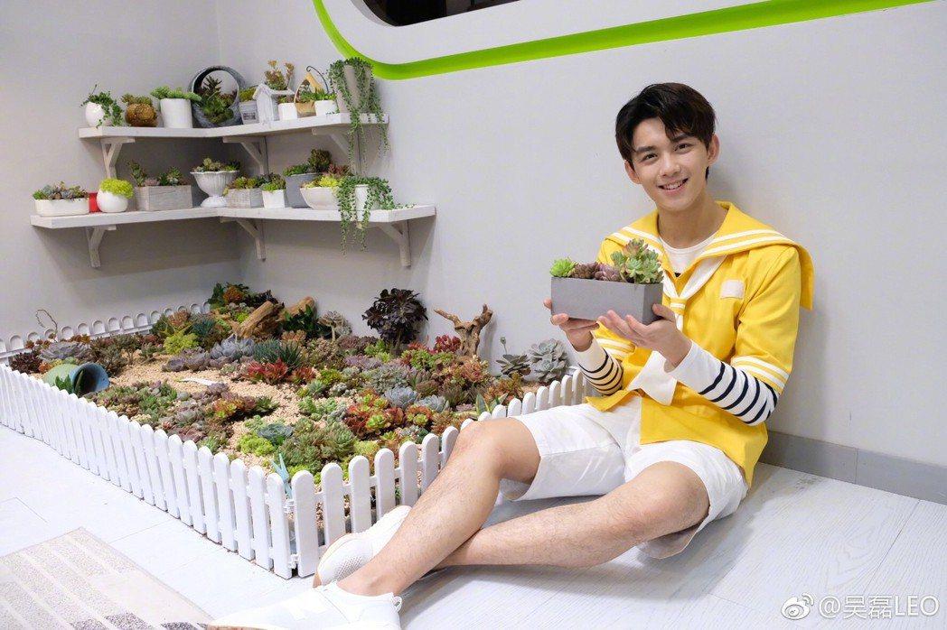 曾演出「瑯琊榜」中飛流的演員吳磊,以第一名的好成績考入北京電影學院。圖/擷自微博