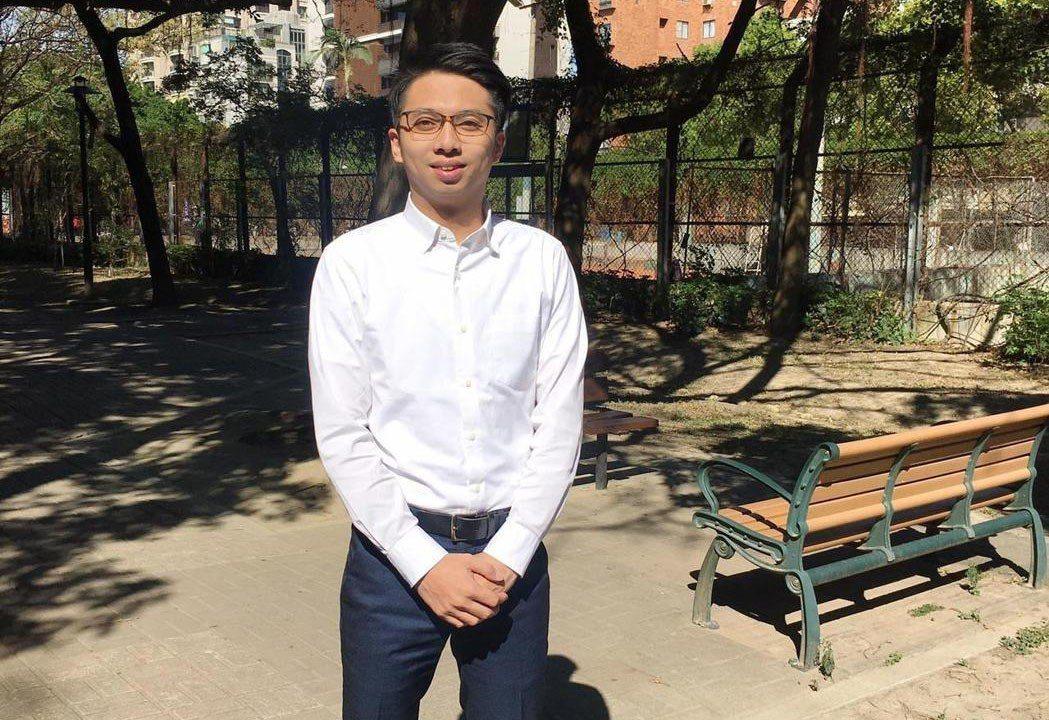 新竹市長林智堅的辦公室主任劉康彥今年才29歲。 圖/聯合報系資料照片