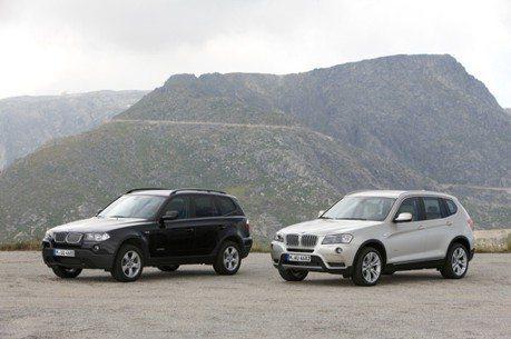 BMW X7有多大? 來跟小老弟X3對比一下