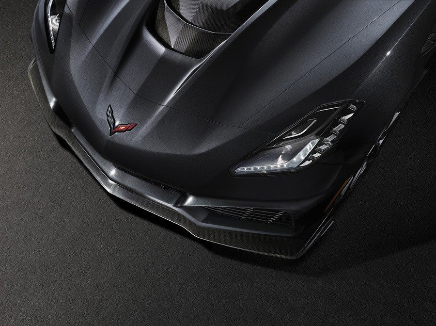 Chevrolet Corvette ZR1。 Chevrolet提供