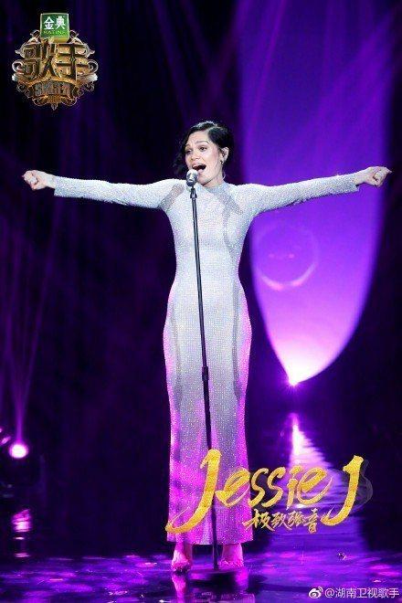 Jessie在「歌手2」拿下冠軍。圖/摘自微博